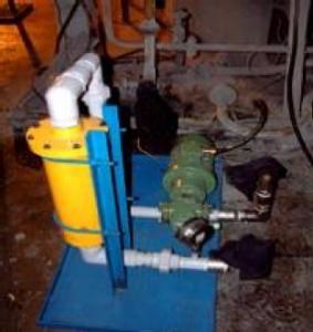 Limpieza de combustible de horno
