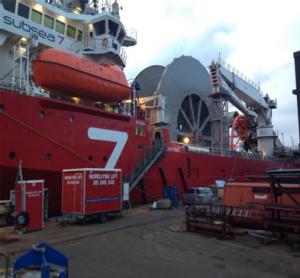 Tratamiento de combustible en barco Noruega
